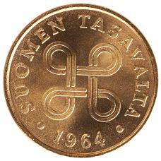 Suomi 1964 1 Penni KL9