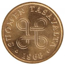 Suomi 1968 1 Penni KL9