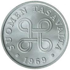 Suomi 1969 1 Penni Alumiini KL9