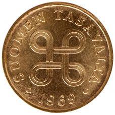 Suomi 1969 1 Penni KL9