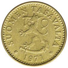Suomi 1971 10 Penniä UNC