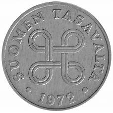 Suomi 1972 1 Penni KL9