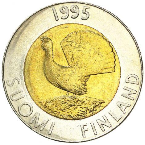 Suomi 1995 10 Markkaa UNC