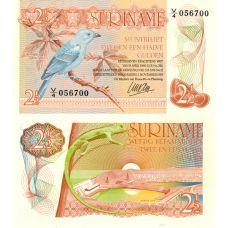Suriname 1985 2 1/2 Gulden P119 UNC