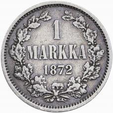 Suomi 1872 1 Markka KL3-4