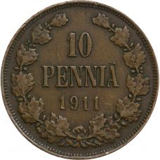 Suomi 1911 Kymmenen Penniä KL3
