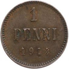 Suomi 1914 1 Penni KL6
