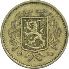 Suomi 1935 20 Markkaa KL5-6