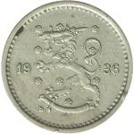 Suomi 1936 50 Penniä KL6