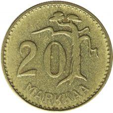 Suomi 1961 20 Markkaa KL7
