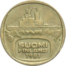 Suomi 1981 5 Markkaa KL7