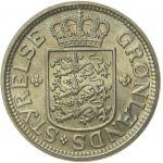 Grönlanti 1926 25 Öre KL9