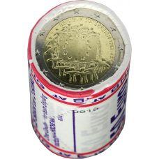 Itävalta 2015 2 € EU:n lippu 30v RULLA