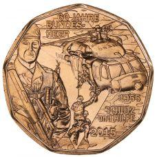 Itävalta 2015 5 € Itävallan maajoukot UNC
