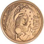 Itävalta 2017 10 € Enkeli UNC