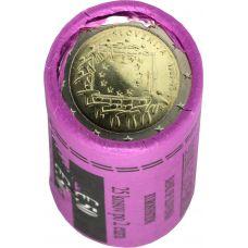 Slovenia 2015 2 € EU:n lippu 30v RULLA