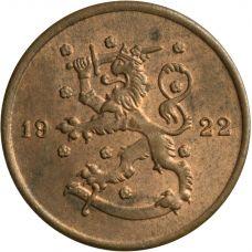 Suomi 1922 1 Penni KL8