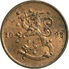 Suomi 1923 1 Penni KL7-8