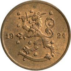 Suomi 1924 1 Penni KL7-8