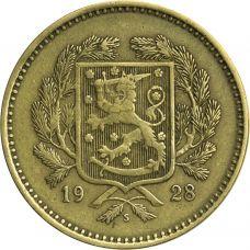Suomi 1928 10 Markkaa kuntoluokka 5-6