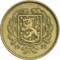 Suomi 1931 10 Markkaa KL7
