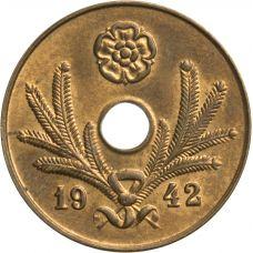 Suomi 1942 5 Penniä KL8