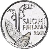 Suomi 2001 10 Penniä KL9