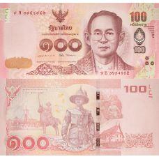 Thaimaa 2016 100 Baht P120 UNC