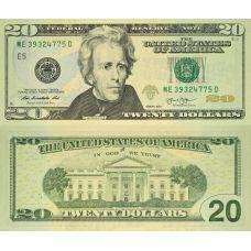 Yhdysvallat 2013 $20 P541 UNC
