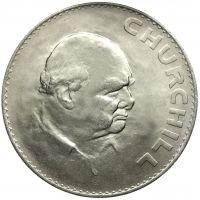 Englanti 1965 Crown Winston Churchill KL8-9