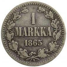 Suomi 1865 1 Markka KL3