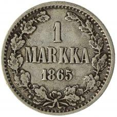 Suomi 1865 1 Markka KL4