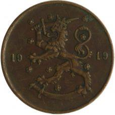 Suomi 1919 10 Penniä KL4