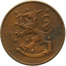 Suomi 1920 10 Penniä KL4