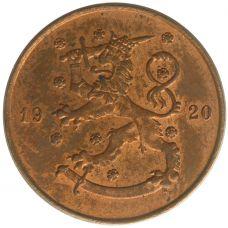 Suomi 1920 5 Penniä KL8
