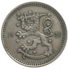 Suomi 1921 1 Markka KL6