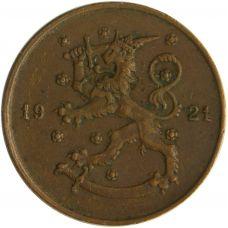 Suomi 1921 10 Penniä KL4