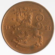 Suomi 1921 5 Penniä KL8