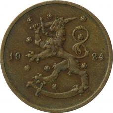 Suomi 1924 10 Penniä KL4