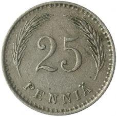 Suomi 1926 25 Penniä KL4
