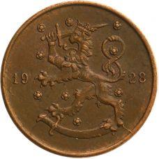 Suomi 1928 10 Penniä KL4