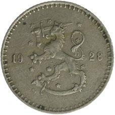 Suomi 1928 25 Penniä KL4