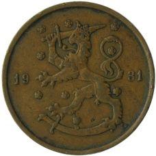 Suomi 1931 10 Penniä KL4