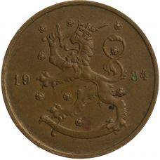 Suomi 1934 10 Penniä KL4