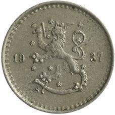 Suomi 1937 25 Penniä KL4