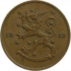 Suomi 1938 10 Penniä KL4
