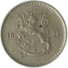 Suomi 1938 25 Penniä KL4