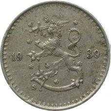 Suomi 1939 25 Penniä KL4