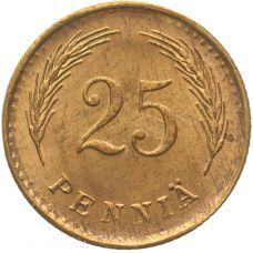 Suomi 1942 25 Penniä KL8