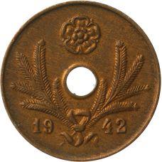 Suomi 1942 5 Penniä KL7